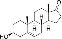 Dehydroepiandrosterone (DHEA) - image DHEA on https://beyond-biology.com