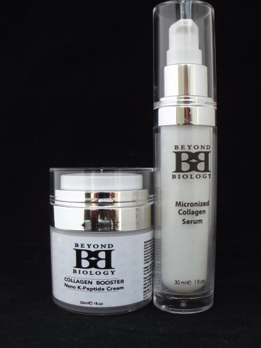 Skin Care Duo Micronized Collagen Serum & Collagen Booster Nano K Peptide Cream - image duo-004-375x500 on https://beyond-biology.com