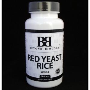 Red Yeast Rice 600mg 60 Caps